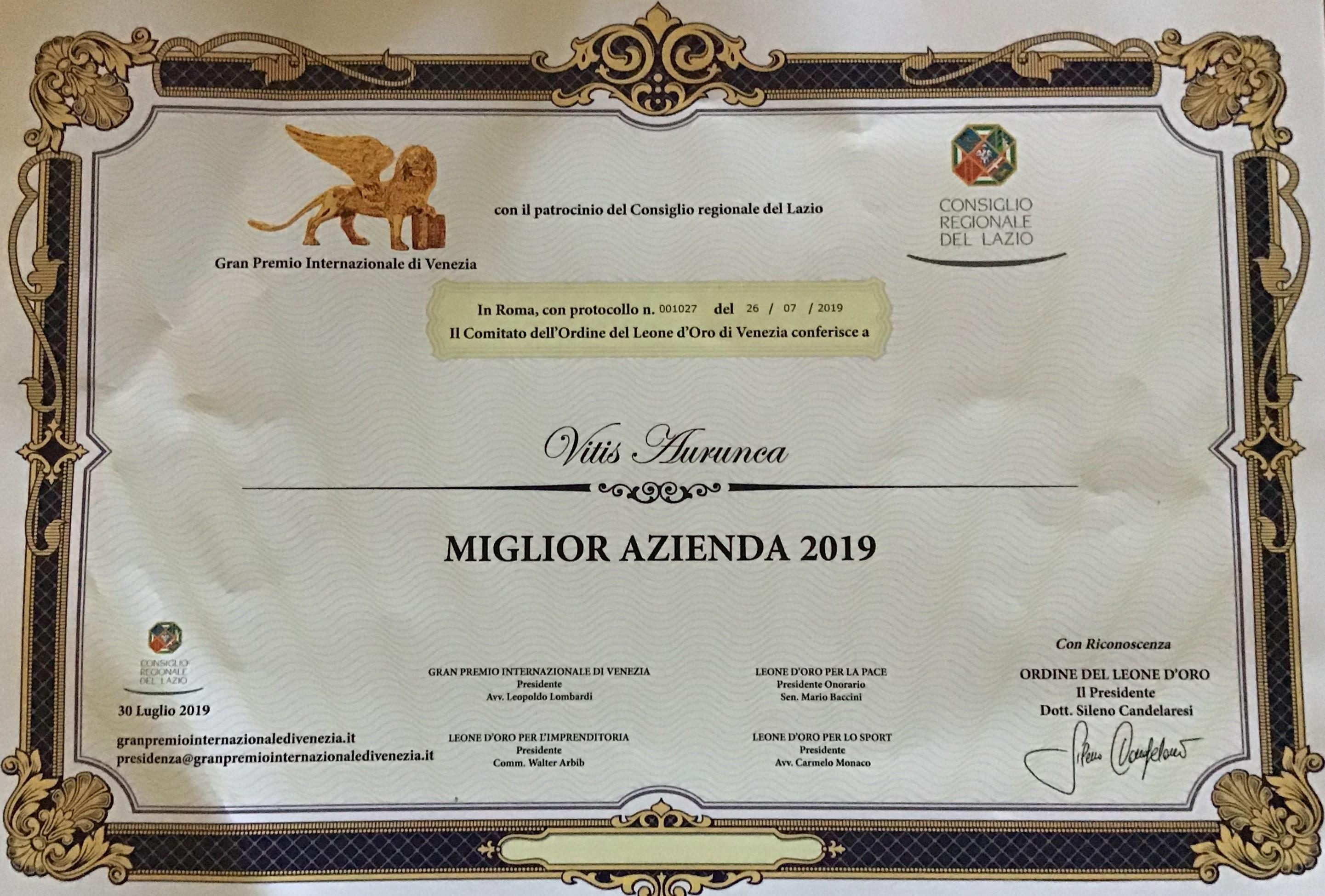 migliore-azienda-gran-premio-internazione-di-venezia